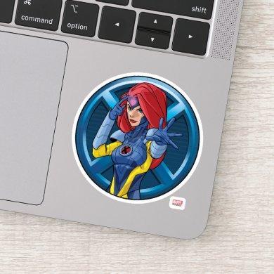 X-Men | Jean Grey Character Badge Sticker