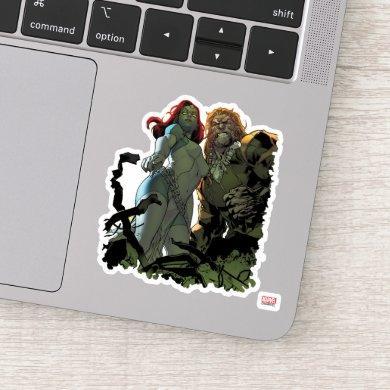 X-Men | Mystique & Sabretooth Sticker
