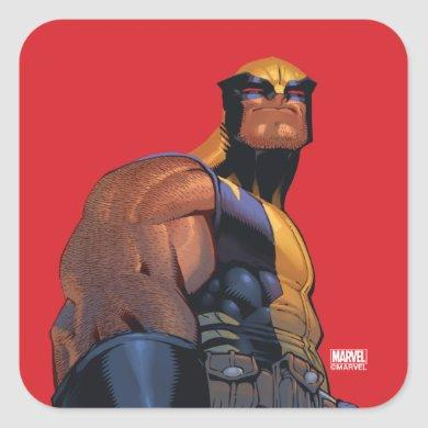 X-Men | Regenesis Wolverine Square Sticker