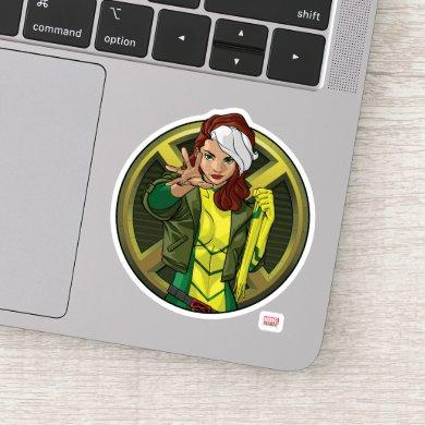 X-Men | Rogue Character Badge Sticker