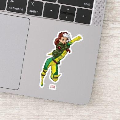 X-Men | Rogue Flying Through The Air Sticker