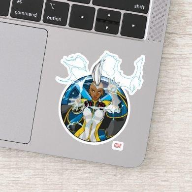 X-Men | Storm Character Badge Sticker