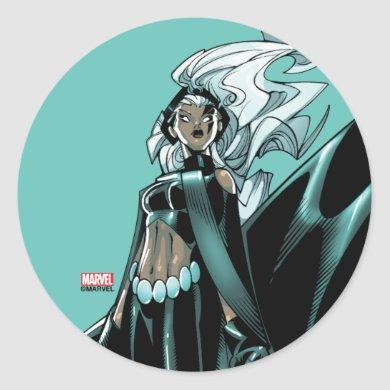 X-Men | Storm Levitating Classic Round Sticker