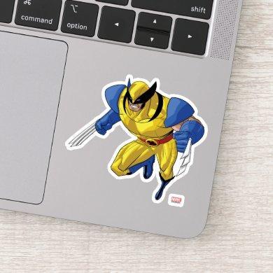 X-Men | Wolverine Running Into A Fight Sticker