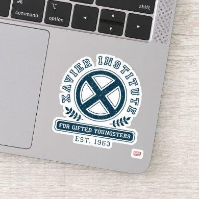 X-Men | Worn Xavier Institute Collegiate Graphic Sticker