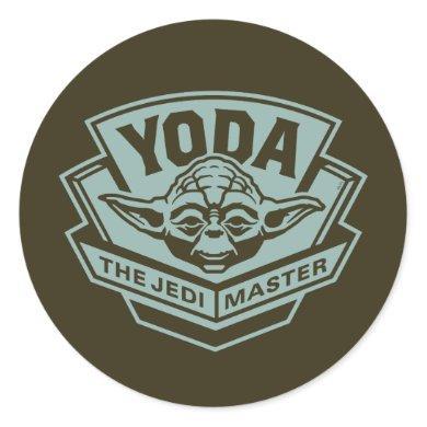 Yoda - The Jedi Master Classic Round Sticker