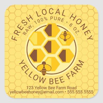 Your Text | Honey Jar Label